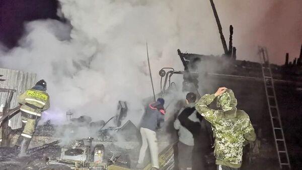 Požar u staračkom domu u Baškiriji - Sputnik Srbija