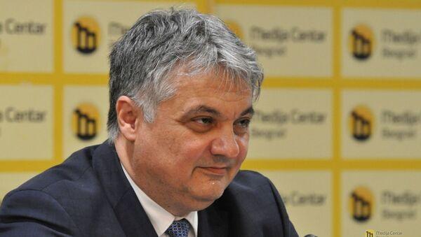 Vladimir Lučić, Telekom Srbija - Sputnik Srbija