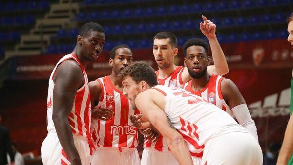 Košarkaši Crvene zvezde  - Sputnik Srbija