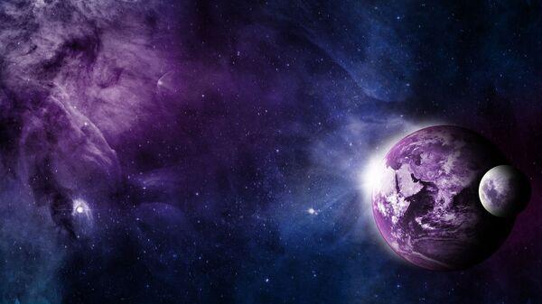 Planeta Zemlja sa Mesecom - Sputnik Srbija