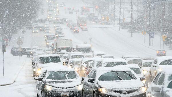 Снежна олуја у САД - Sputnik Србија