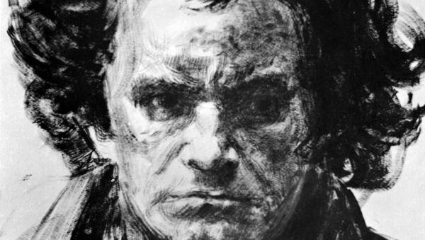 Kompozitor Ludvig van Betoven, rad umetnika Grigorija Ingera - Sputnik Srbija