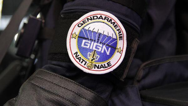Značka GIGN-a (Nacionalne grupe za intervenciju žandara) elitne francuske jedinice - Sputnik Srbija