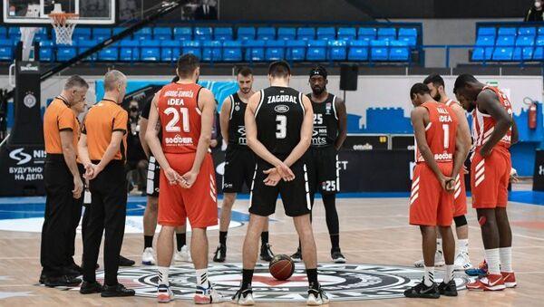 Crvena zvezda i Partizan, košarka  - Sputnik Srbija