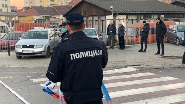 Policija u Novom Pazaru - Sputnik Srbija
