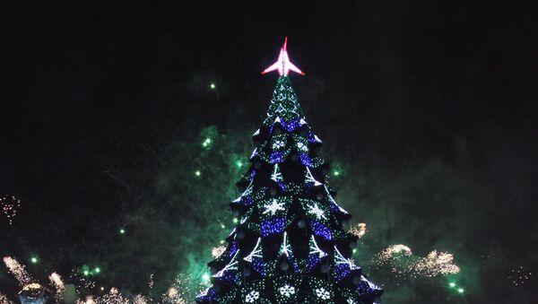 Glavna novogodišnja jelka u Kijevu - Sputnik Srbija