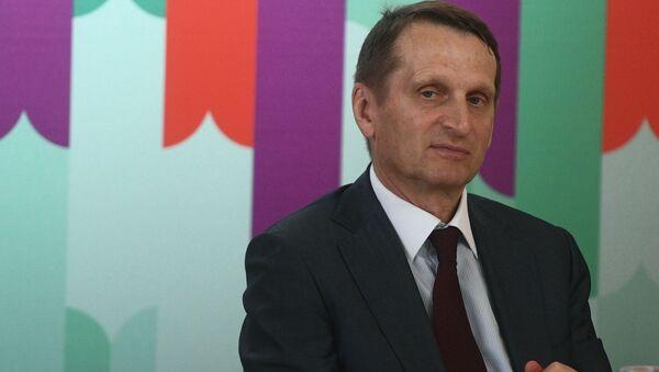 Sergej Nariškin - Sputnik Srbija