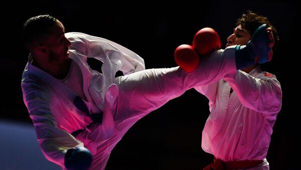 Karate, ilustracija - Sputnik Srbija