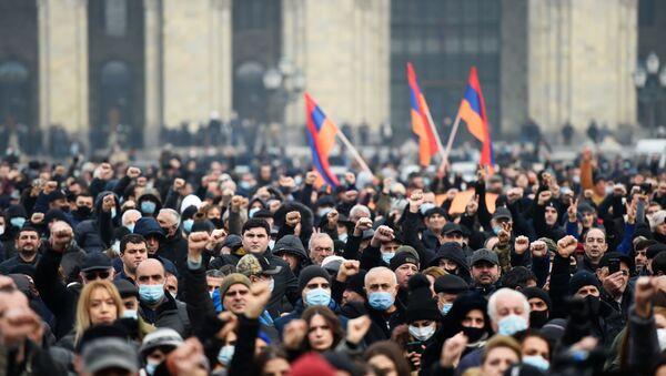Miting pristalica jermenske opozicije u Jerevanu - Sputnik Srbija