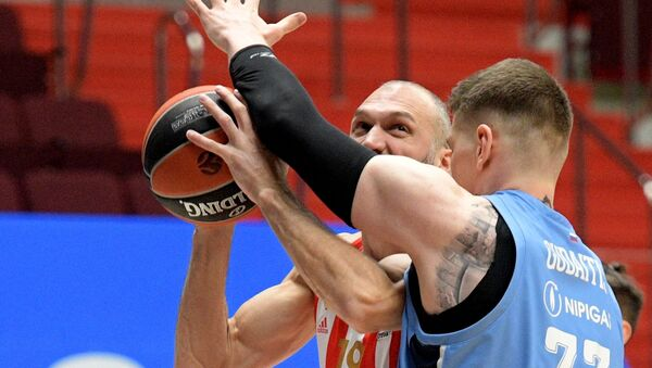 Marko Simonović, košarkaš Zvezde - Sputnik Srbija