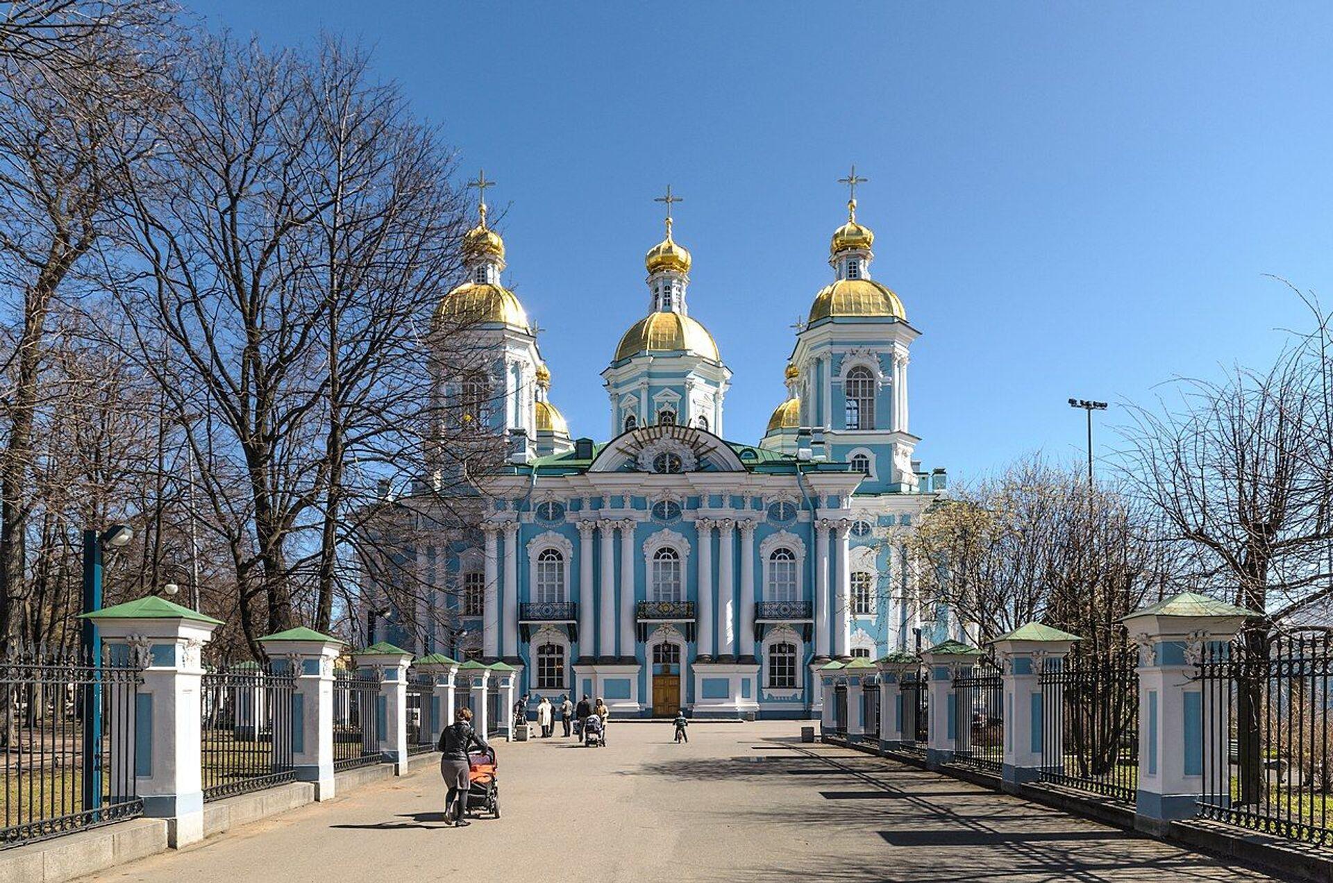 Никољски морски сабор, Санкт Петербург, Русија - Sputnik Србија, 1920, 13.07.2021