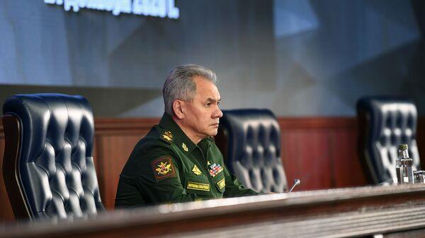 Министар Сергеј Шојгу - Sputnik Србија