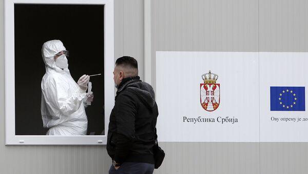 Testiranje na virus korona u Srbiji - Sputnik Srbija