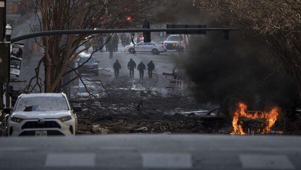 Eksplozija u američkom gradu Nešvilu - Sputnik Srbija