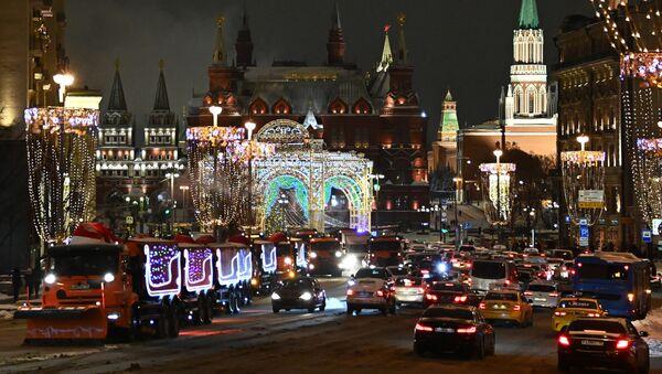 Moskva u novogodišnjem ruhu - Sputnik Srbija