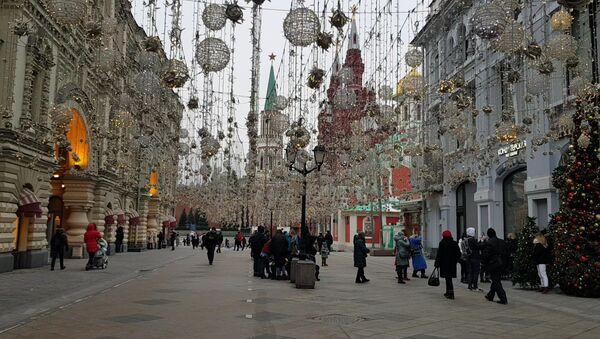 Москва уочи новогодишњих празника - Sputnik Србија