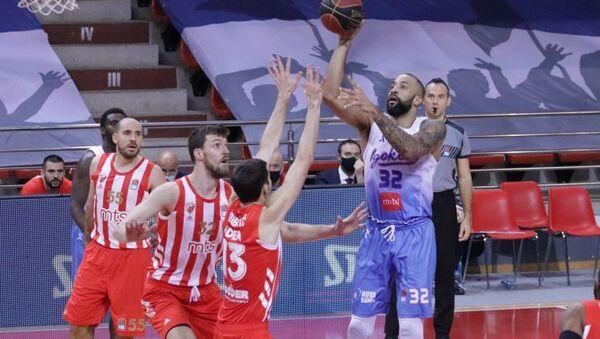 Detalj sa utakmice Igokea – Crvena zvezda - Sputnik Srbija