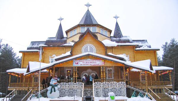 Kuća ruskog Deda Mraza u Velikom Ustjugu - Sputnik Srbija