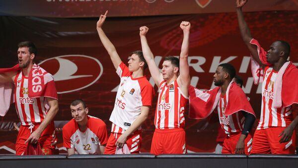 Crvena zvezda, košarkaši - Sputnik Srbija