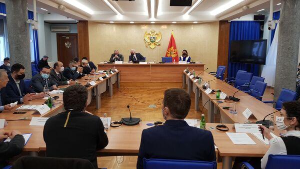 Zasedanje Skupštine Crne Gore - Sputnik Srbija