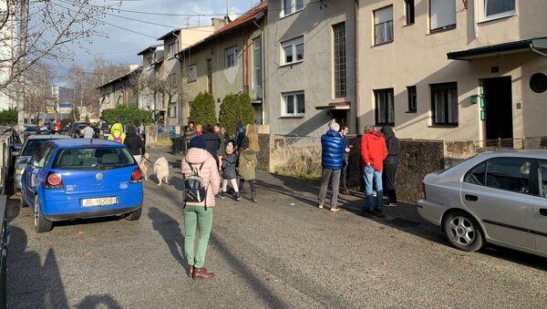 Zemljotres u Zagrebu - Sputnik Srbija