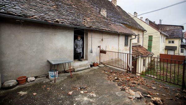 Последице земљотреса у Петрињи - Sputnik Србија