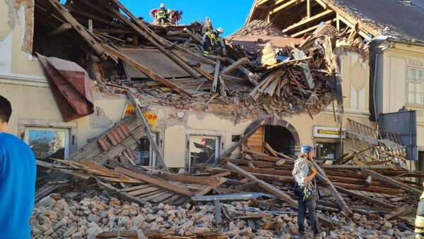 Земљотрес у Петрињи - Sputnik Србија