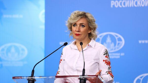 Portparolka Ministarstva spoljnih poslova Rusije Marija Zaharova - Sputnik Srbija