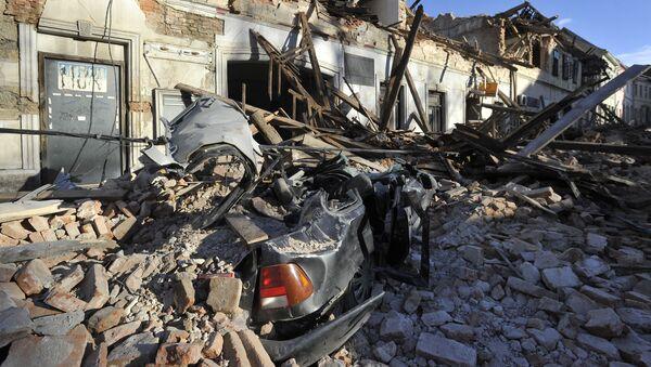 Zemljotres u Petrinji - Sputnik Srbija