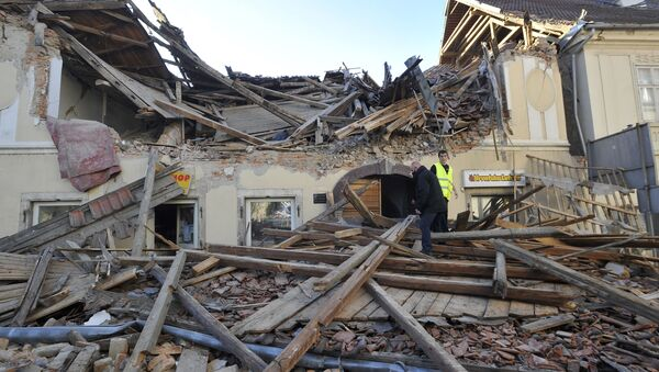 Земљотрес у Хрватској - Sputnik Србија