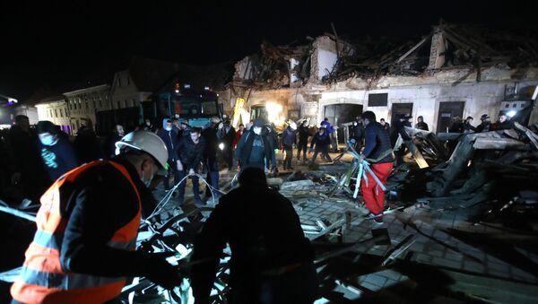 Zemljotres u Hrvatskoj - Sputnik Srbija