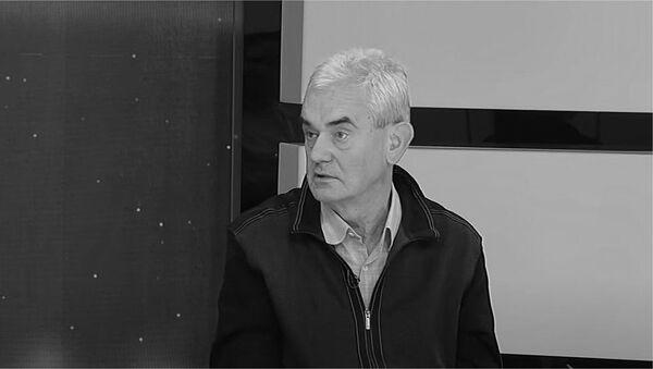 Dragan Janjić glavni urednik Bete  - Sputnik Srbija