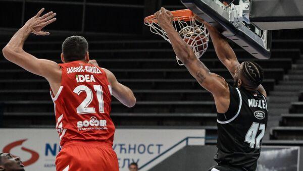 Detalj sa utakmice između Crvene zvezde i Partizana - Sputnik Srbija