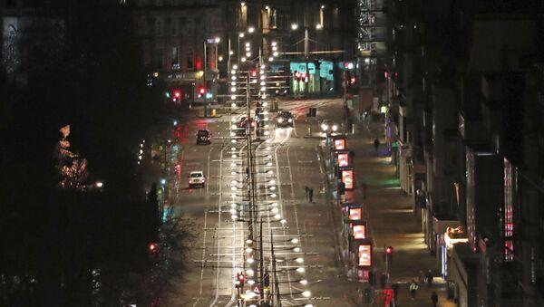 Пусте улице у Единбургу, главном граду Шкотске - Sputnik Србија