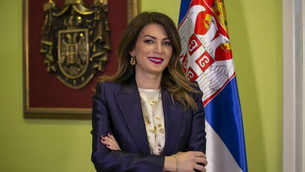 Ministarka Tatjana Matić - Sputnik Srbija