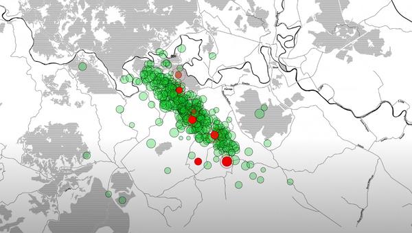 Сеизмолози објавили снимак свих потреса код Петриње - Sputnik Србија