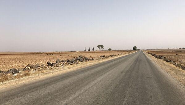 Put u provinciji Hama u Siriji - Sputnik Srbija