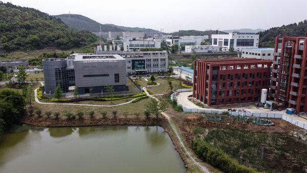 Поглед на лабораторију П4 у Институту за вирологију у кинеском Вухану - Sputnik Србија