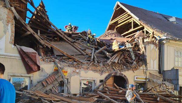 Posledice zemljotresa - Sputnik Srbija