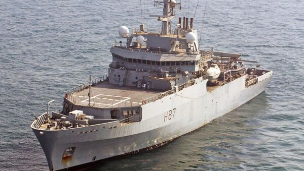 Британски извиђачки брод HMS Echo H87 - Sputnik Србија