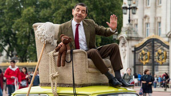 Britanski glumac Rouen Atkinson kao Mister Bin - Sputnik Srbija