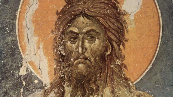 Freska Jovana Krstitelja iz manastira Gračanica - Sputnik Srbija