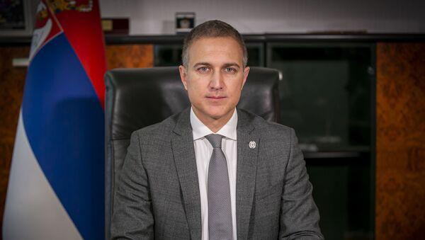 Ministar odbrane u Vladi Republike Srbije Nebojša Stefanović - Sputnik Srbija