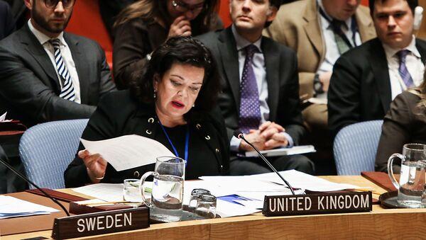 Ambasador Velike Britanije u UN Karen Pirs (arhivska fotografija) - Sputnik Srbija