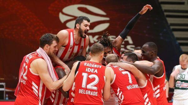 Crvena zvezda košarka - Sputnik Srbija