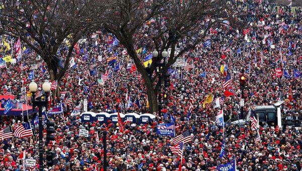 Протест у Вашингтону - Sputnik Србија