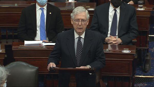 Вођа републиканске већине у Сенату САД Мич Меконел - Sputnik Србија