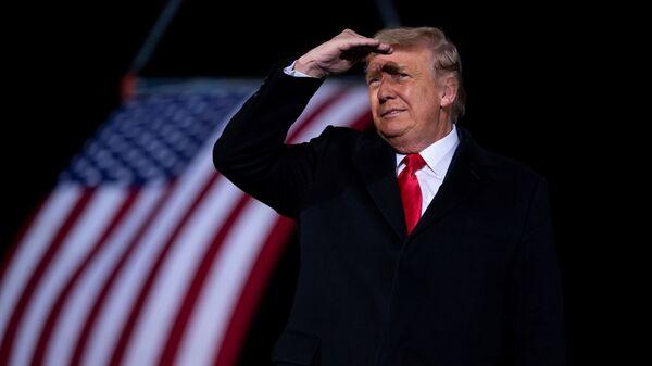 Бивши амерички председник Доналд Трамп - Sputnik Србија