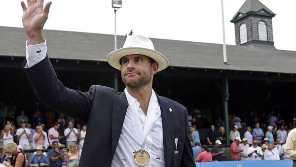 Бивши амерички тенисер Енди Родик - Sputnik Србија