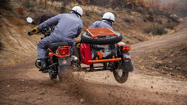 Novi ruski motocikl Ural Gear Up GEO - Sputnik Srbija